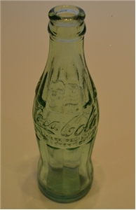 Fort Worth TX Antique Coca Cola Glass Bottle Hobble Skirt 1958
