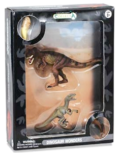 CollectA Dinosaur Wonders Set - T-Rex & Velociraptor