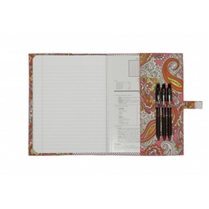 Fashionit Paris/ Vintage Dots White Composition Notebook Cover