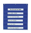 Pacon Mini Pocket Chart, Blue