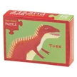 Two-Sided Dinosaur Puzzle | Dinosaur puzzle for kids | kids puzzle | Kid party favors | Dino party