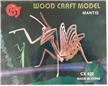Praying Mantis Wood Kit