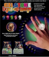 Gel Stone Ring - Light Up Ring