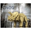 Robotime - Triceratops 3D Dinosaur Model - Medium