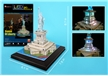 Statue of Liberty 3D Puzzle With Base and Lights 37 Pieces
