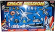 Space Mission 28 Piece Playset w/Mission Control Sign
