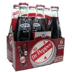 6-Pack Original Dublin Dr Pepper Glass Bottles Sealed