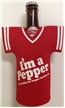 Dublin Dr Pepper Jersey Bottle Koozie