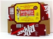 Dublin Dr. Pepper 12 Can Holder - Cardboard Box
