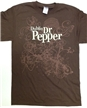 Dublin Dr Pepper Brown Shirt- Medium