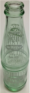 Dublin Dr Pepper Empty Glass Bottle