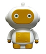 Zibit Robot-Dinc, Mini Collectable Robots come to life with R/C!! Race your Zibit forward and turn a