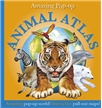 Amazing Pop-Up Animal Atlas, animal book for kids, animal info