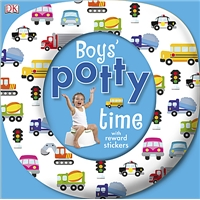 Boys' Potty Time Book, kids potty training book, all about potty training