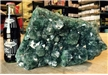 Large Amethyst Druzy Cluster Colored Enhanced Teal 11 lbs