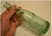 Antique 1952 Dublin Dr Pepper Soda Bottle Green 10 2 4
