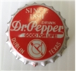 Dublin Dr Pepper Bottle Cap - Unpressed