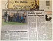 Dublin, Texas Citizen newspaper, Dublin Dr Pepper, January 12, 2012