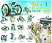 14 in 1 Educational Solar Robot Kits