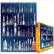 International Space Rockets Jigsaw Puzzle 1000 pieces, space puzzle, space jigsaw puzzle, space rock