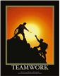 Motivational - Teamwork Poster