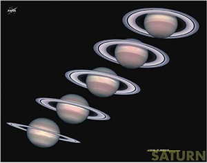 Saturn - Change of Seasons Poster