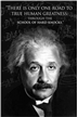 Einstein - True Human Greatness Poster