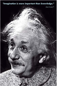 Einstein - Imagination Poster