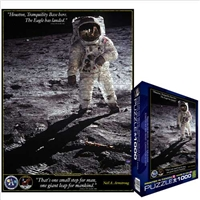 Walk on the Moon Jigsaw Puzzle 1000 Pieces, space puzzle, space jigsaw puzzle, moon puzzle, moon jig