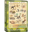 EuroGraphics Dinosaurs 1000 Piece Puzzle