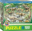 Eurographics Kids Dinosaurs Puzzle 100 Pices