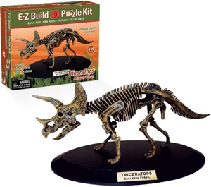 E-Z Build Puzzle- Triceratops Skeleton