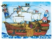 Flipzles Pirate Ship Puzzle