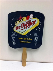 Dublin Dr. Pepper 117th Birthday Celebration Fan