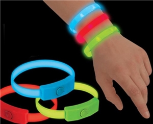 Flashbanz Light Up Bracelet- Red