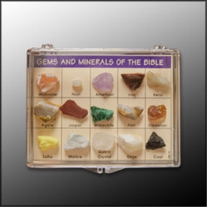 Gems and Minerals of the Bible Collection