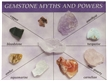 Gemstone Myths and Powers Mineral Kit