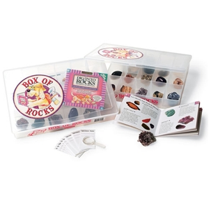 Box of Rocks, rocks and minerals, kids box of rocks, rock kit, rock collection