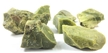 Green Opal Rough Mineral Rock - Bulk Pack (30 Pieces)