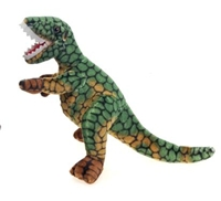 "18"" Green T-Rex Stuffed Dinosaur"