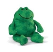 gund animals, kissing frog, plush frog toy, St. pattys frog, st. patricks day animals, frog toy, fro
