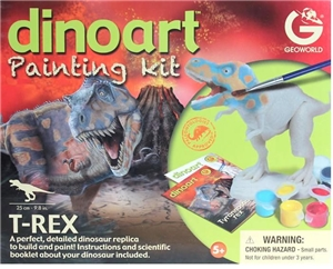 Dino Art T-Rex Toy