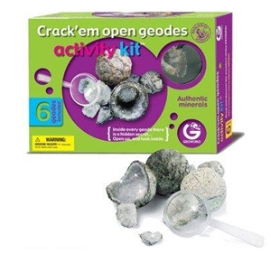 Geoworld Activity Kit - Crack 'em Open Geodes