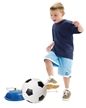 Soccer Trainer by iplay, kids soccoer ball kick game, practicing soccer kicks for kids, base with so