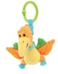 Soft plush pterodactyl - Attaches to Car Seat/Stroller