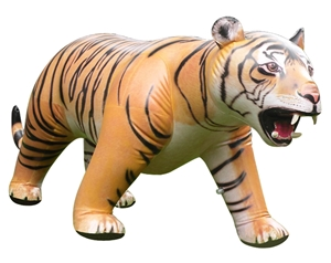 "Giant Inflatable Tiger 84"" Long"