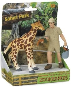 Safari Ltd Safari Land John and Baxter Zookeeper