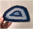 Large Agate Slab Polished - Blue