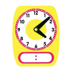 Oh Digital / Analog Clock Set of 5