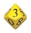 10 Sided Demonstration Dice
